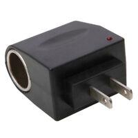 110V-240V AC To 12V DC Car Cigarette Lighter Converter Socket Adapter US Plug