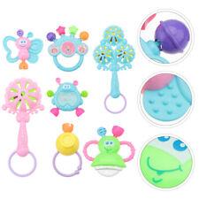 7PCS Cartoon Baby Rasseln Spielzeug Baby Rassel Spielzeug für Trip Baby Infant