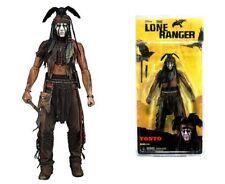 "NEW NECA The Lone Ranger - Tonto 7"" Action Figure Johnny Depp Free Post"