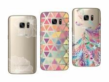 Samsung Galaxy S7 - Paquete De 3 Carcasas Suave Y Liso Con Motivos Fantasía