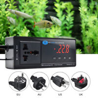 10A 110V 220V Digital LED Temperature Controller Thermostat Aquarium Reptile