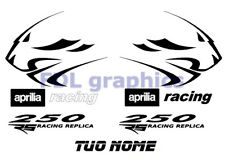 KIT ADESIVI APRILIA RS 50 125 250 adesivo carene leone racing