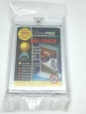 1 ULTRA-PRO ONE-TOUCH Magnetic 180PT UV Protected Card Holders as picture in