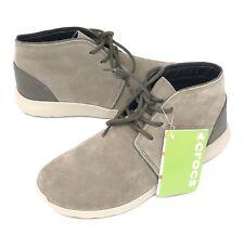 Crocs Men's Kinsale Chukka Boot Shoes Size 10 Mushroom/Cobblestone NEW W/TAGS