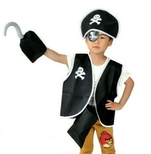 Cosplay girls boys kids children unisex pirate costume