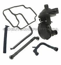 PCV CRANKCASE VENT VALVE AND BREATHER + OIL Filter GASKET for BMW E46 325i 320i