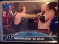 2013 Topps Best of WWE Top Ten Rivalries #4 Undertaker Vs. Kane