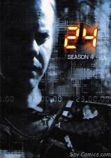 24 SEASON 4 ARTBOX 2006 KIEFER SUTHERLAND COMPLETE 90 CARD BASE SET + PACK WRAP