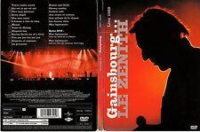 GAINSBOURG - Le ZENITH - LIVE 1989 - Coffret Digipack - 1 DVD