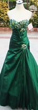 NWT BLUSH PROM 9308 Emerald Green $438 Prom Gown 4