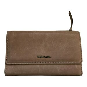 Paul Smith Ladies Leather Tri Fold PURSE Brand New