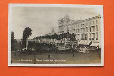 Afrika Ägypten Egypt AK Alexandria 1922 Majestic Hotel Street Budweiser BAR +++