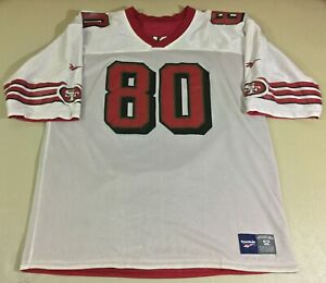 Vintage San Francisco 49ers Jerry Rice #80 Football-NFL Reebok Jersey Size52