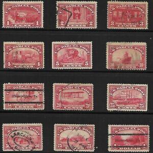 USA 1913 PARCEL POST STAMP .75 CENT VALUE HAS THIN 2 PRECANCELS