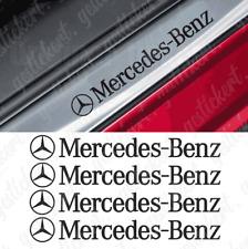 4x Mercedes Einstieg Aufkleber Sticker Decal Tuning AMG Benz Auto