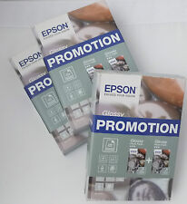 (PRL) EPSON PHOTO PAPER CARTA GLOSSY 10 x 15 CM DUO PACK 50 SHEETS 4X6 IN