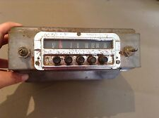 1954 1955  Ford Radio Original Used Part# 64C522049 and 4MF Vintage AM