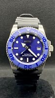SEIKO DIVER 200M AUTOMATIC + NH35 W/ HACKING + YACHTMASTER MOD + MARINE MASTER