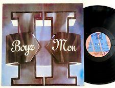 "Boyz II Men ""S/T"" R&B Hip Hop LP Motown Jamaica"