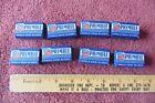 8 Boxes of 40 Belknap Primble Safety Razor Blades Single Edge Vintage USA