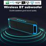 Bluetooth Stereo Bass Wireless Speaker Indoor/Outdoor USB/TF Radio FM Portable