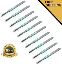 10 Pcs Scalpel Handle # 4 Medical Surgical Brand New Stainless Steel