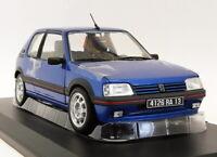 Norev 1/18 Scale 184856 - 1992 Peugeot GTi 1.9 - Miami Blue