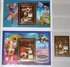 GUINEA 1992 1372 Block 415-16 A Soccer World Cup 1994 USA Fußball WM Football **