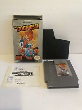 The Goonies II (1987) Nintendo NES COMPLETE IN BOX CIB TESTED AND WORKING!!