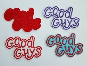 Personalised Good Guys Embroidered Patch Badge Iron on