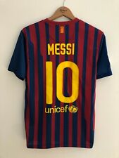 BARCELONA 2011/2012 SPAIN HOME FOOTBALL SOCCER SHIRT JERSEY CAMISETA NIKE MESSI