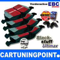 EBC FORROS DE FRENO DELANTERO blackstuff para VW CORRADO 53i DP841/2
