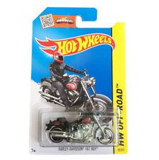 HOT WHEELS CFK37 HARLEY-DAVIDSON FAT BOY HW OFF-ROAD 82/250 RARE LONG CARD