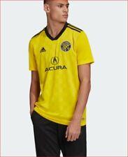 new Adidas Climacool men shirt jersey Columbus Crew soccer DP2985 yellow 2XL $90