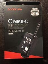 Godox Cells-ii All-in-One ttl Wireless Remote Ettl Flash Transmitter Canon