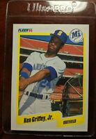 1990 Fleer - Ken Griffey Jr. Mariners Card #513  @( * O * )@