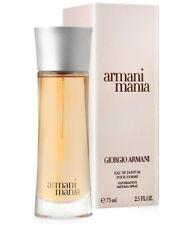 Armani Mania by Giorgio Armani Eau de Parfum Spray For Her 75ml /2.5Oz Sealed!