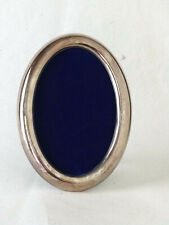 """PEDRO DURAN Sterling Silver 925 ENGRAVED Oval Picture Frame, 6 7/8"""" X 4 1/2"""""""