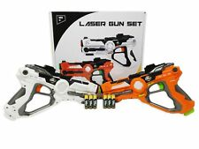 TG666 - Laser Gun Set - Infrared Laser Tag Game with 2 Guns Included