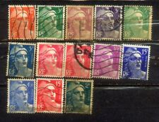 France Francaise Nice Stamps Lot 9
