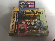 Nuevo Sellado ganar Post ex Sega Saturn JP Japón En Caja Con Manual Buenas Cond