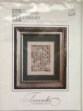The Drawn Thread Toccata Number One Cross Stitch Chart Instructions