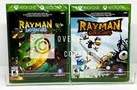 Rayman Origins + Rayman Legends - Xbox 360 / Xbox One - New | Factory Sealed