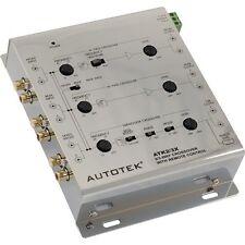 Autotek ATK2/3X 2 Way- 3 Way Active Crossover comes with Remote Bass Control