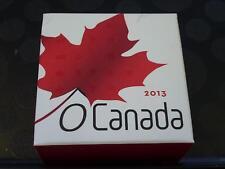 CANADA - 2013 $10 HOLIDAY SEASON 99.99% SILVER COIN IN RCM BOX + COA