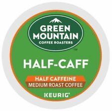 Green Mountain Coffee Half-Caff, Keurig K-Cup Pod, Medium Roast, 96 Count!!!
