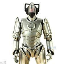 Doctor Who Figure Cyberman Cyberleader Cyber Leader Exposed Brain Black Cover