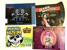 (11) Micro Craft Beer Labels lot Ale Asylum Lagunitas Coachella