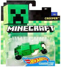 Hot Wheels Minecraft Creeper Diecast Character Car #1/6