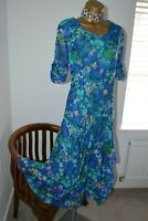 ~ CHESCA ~ Stunning Blue Balloon Hem Dress Size 3 UK 20 -22 Mother of the Bride